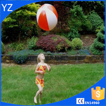 PVC inflatable personalized mini beach balls in bulk