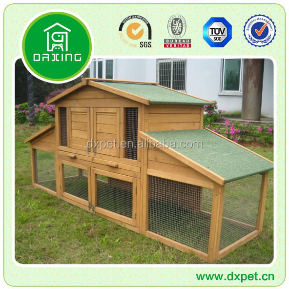 wooden rabbit cage DXR031