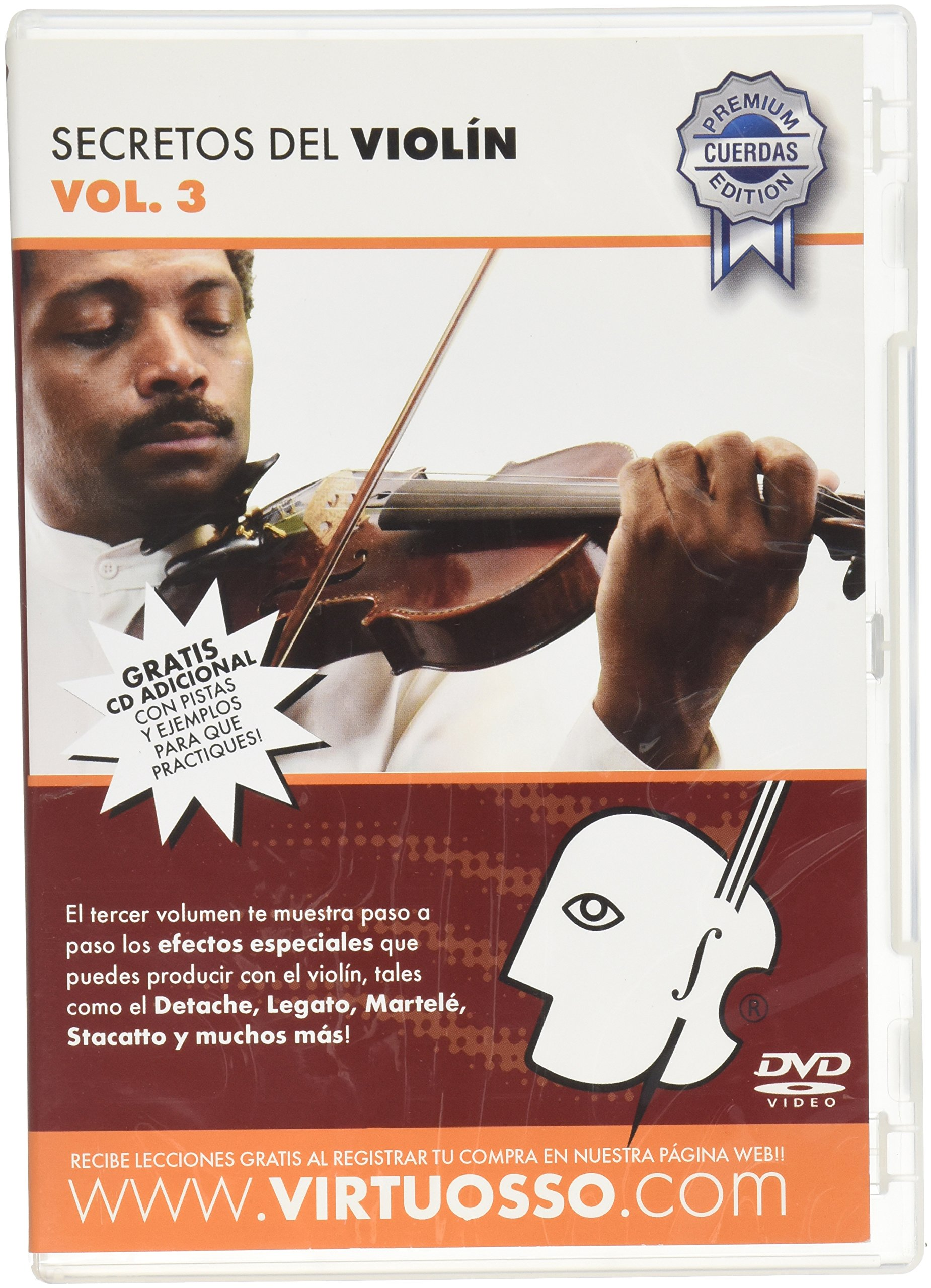 Virtuosso Violin Method Vol.3 (Curso De Violín Vol.3) SPANISH ONLY