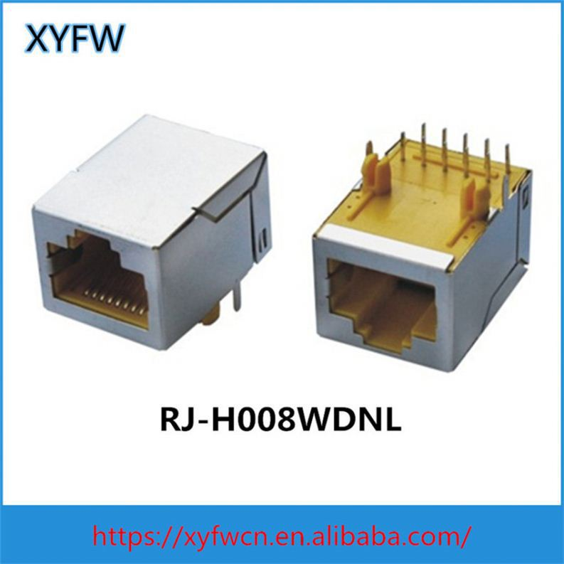 Rj-45 Connectors Best Modular Jack With Shield Boot Lan Transformer