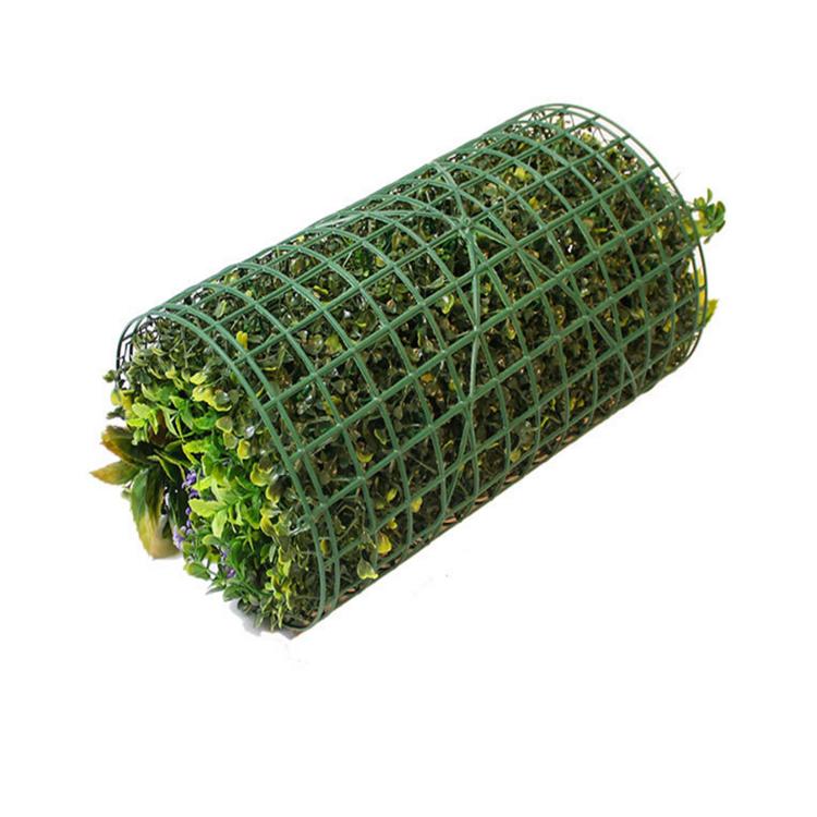 אנטי uv פלסטיק באיכות גבוהה מלאכותי גידור תאשור פנלים ירוק צמח אנכי גן קיר למקורה קישוט