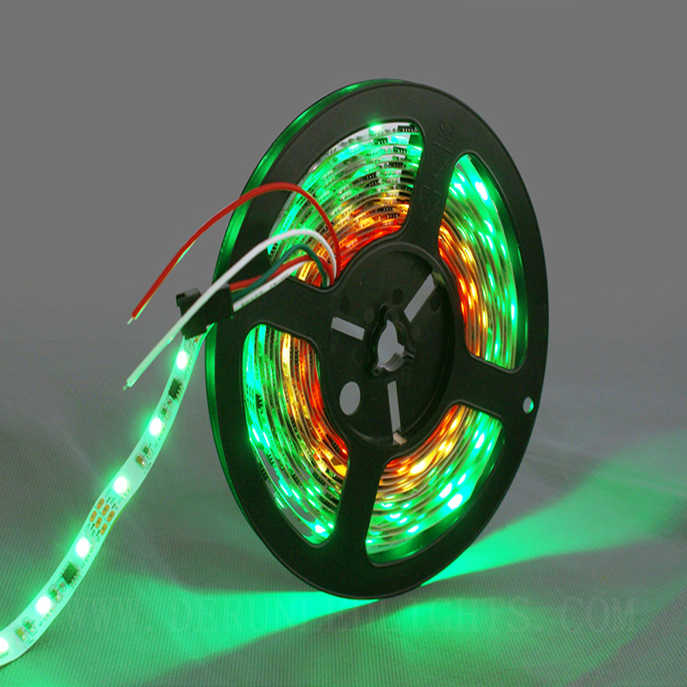 Changeable color smd5050 flexible IC digital RGB ws2811 led strip light 5m 300leds
