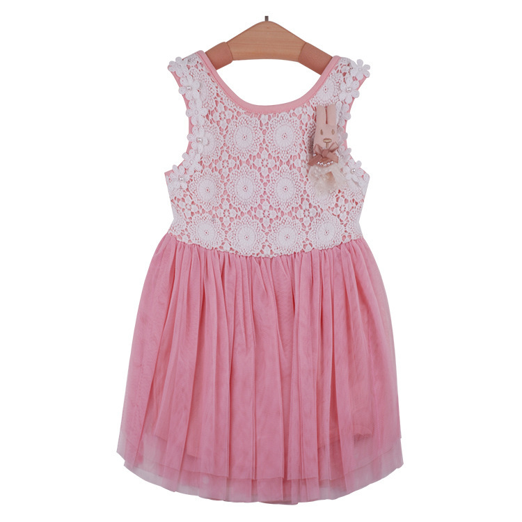 d3368d3f8054 Buy Free Shipping New Pattern Girls Lace Gauze Printing Pearl The Rabbit  Silk Ribbon The Princess Dress Girls Dress 5pcs lot tja in Cheap Price on  Alibaba. ...