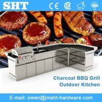 Good Quality Choice Stainless Steel Modular Bbq Island Outdoor