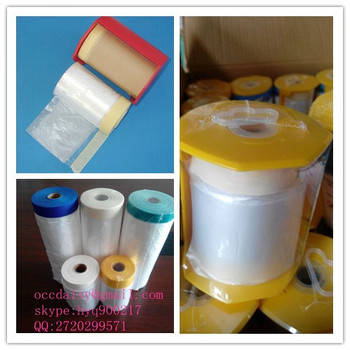 Masking Film Roll For Use In Painting