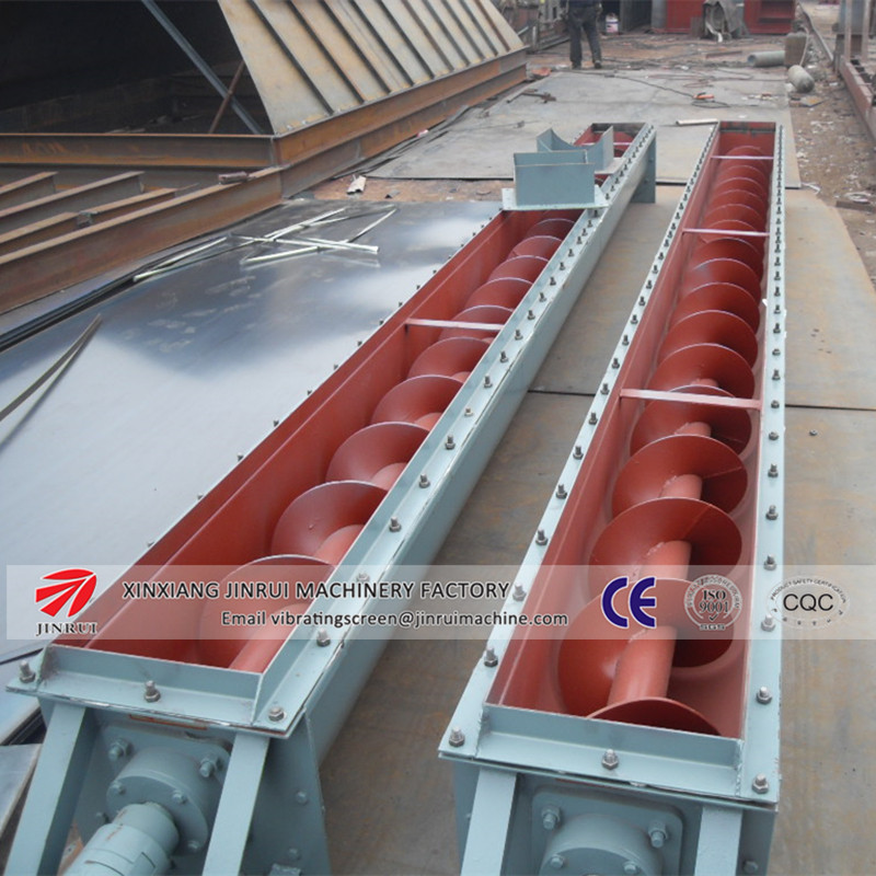 high standard food grade stainless steel flour powder screw conveyor
