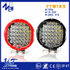 2016 NEW arrival red ring led light bar super bright led offroad light