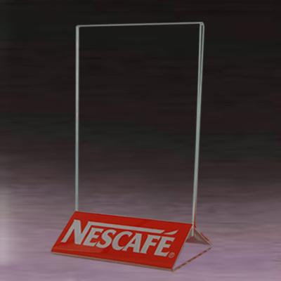 Clear Acrylic Menu Stand/acrylic Menu Holder/fast Food Menu Board ...