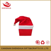 Creative design home Christmas hat storage box for kids