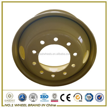 Truck Steel Wheel Semi Truck Rims 11r 22.5