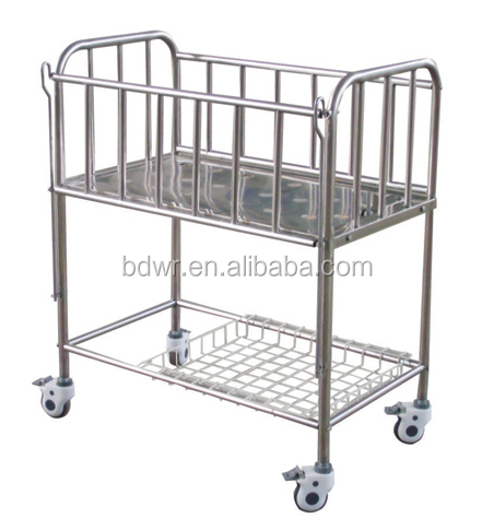 Hospital new born bed models baby cribs D-4