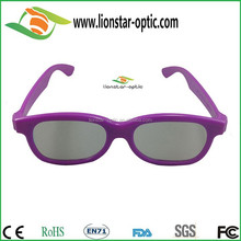 Mianly designed circular polarized 3D Glasses with best price, Made in China