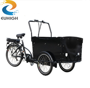 Cheap tricycle ice cream coffee adult cargo bike for sale