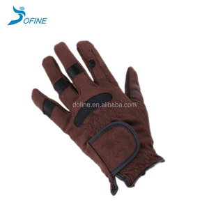 Professional Suede Fashion Equestrian Horse Riding Gloves