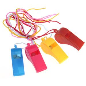 Outdoor Use Cheap Kids Gift Whislte Children Toys Whistle Plastic Whistle