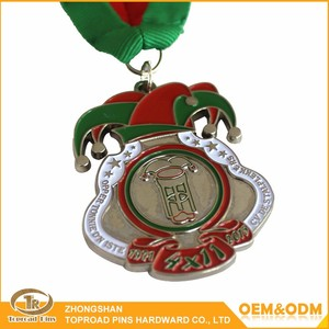 2016 promotional the medal custom military medal ribbons