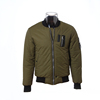 Wholesale army green camo embroidered bomber jacket