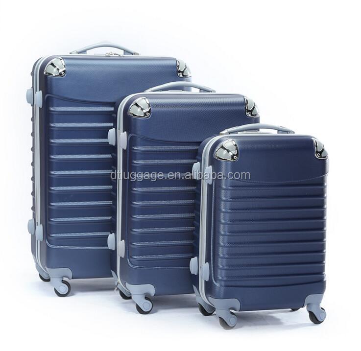 Лучший 3 шт abs fugu багажный набор с водонепроницаемыми чехлами для багажа