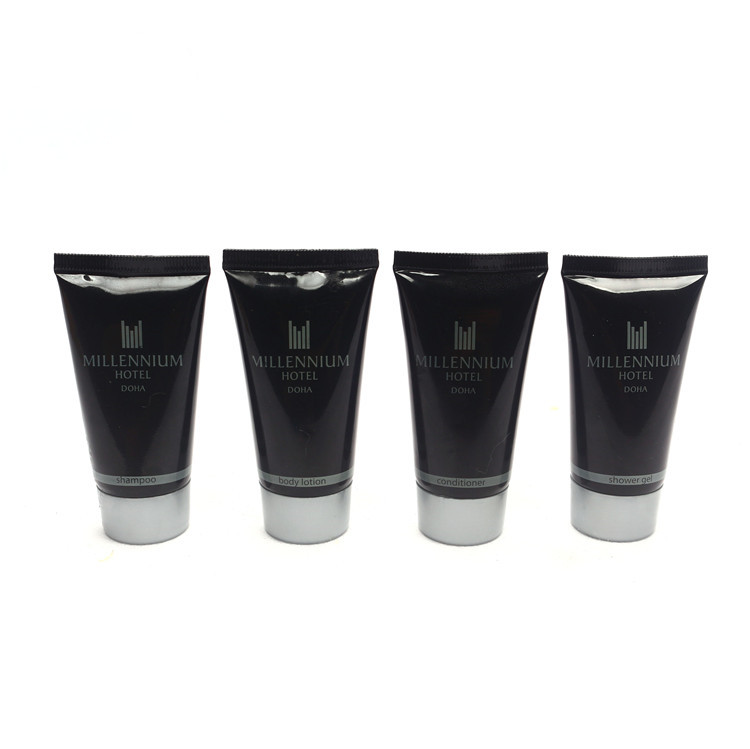 best selling hotel 30ml shampoo tube hotel cosmetics mini hotel shampoo