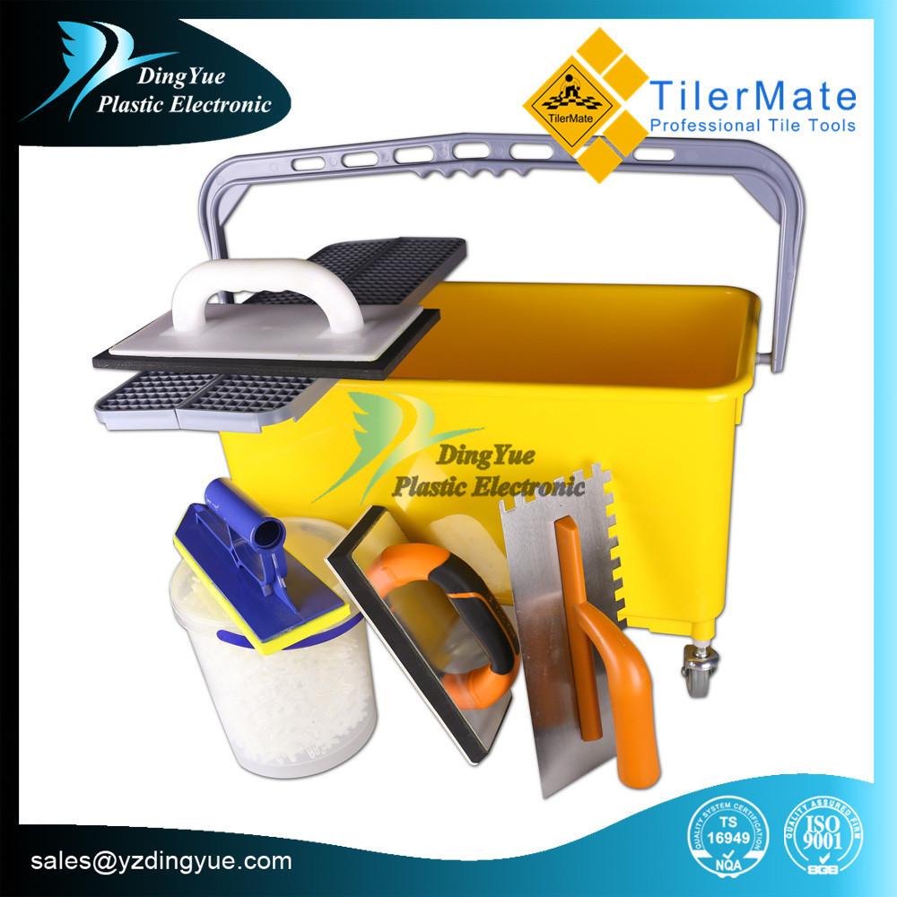 Diy pl stico cubo de limpieza para lechada sistema de - Productos para limpiar azulejos ...