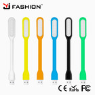 High Quality Flexible Bright Mini LEDS Lamp USB Light PC Laptop Computer Convenient For Reading mobile phone accessories