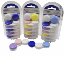 new design high quality lens cleaner contact lens cases set