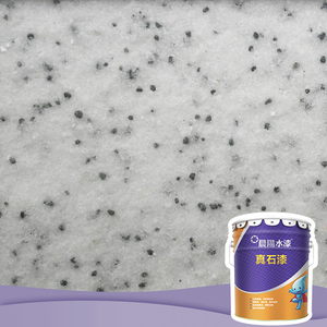 Natural marble stone effects concrete paint rock wall paint