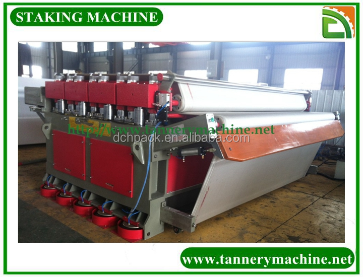 used machine&device for leather tannery staking machine in China