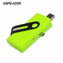 New Arrival 1000 mah card reader 2.0 USB Universal OTG Emergency Rechargeable Battery Charger 1000mAh from Sinobangoo