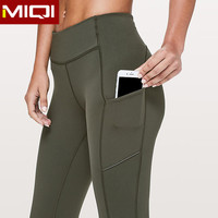 Private Label Yoga Pants Leggings With Pocket High Waist Compression Women Gym Tights