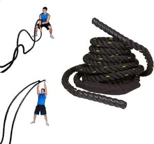 The Ultimate Complete Full Body HIIT Workout Battling Ropes Circuit Jumping Chest Tabata Workout 50ft Battle Rope