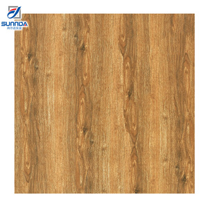 24X24 Hot sale Large Anti-slip 600X600mm Villa Noble Wood Grain glazed ceramic porcelain floor tiles with good price