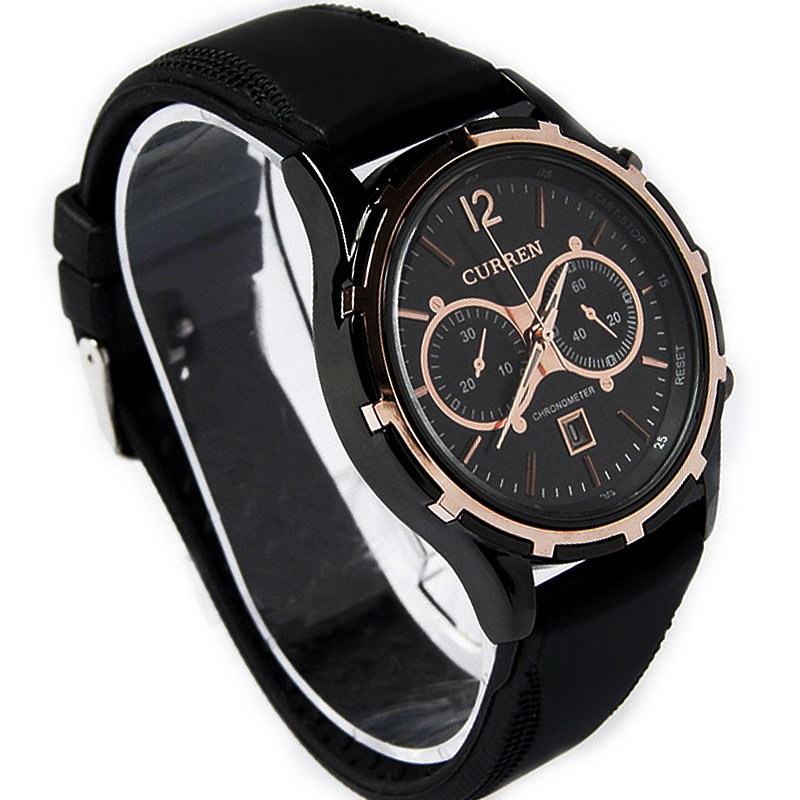 New Luxury CURREN Sport Water Hours Date Quartz Hand Clock ...