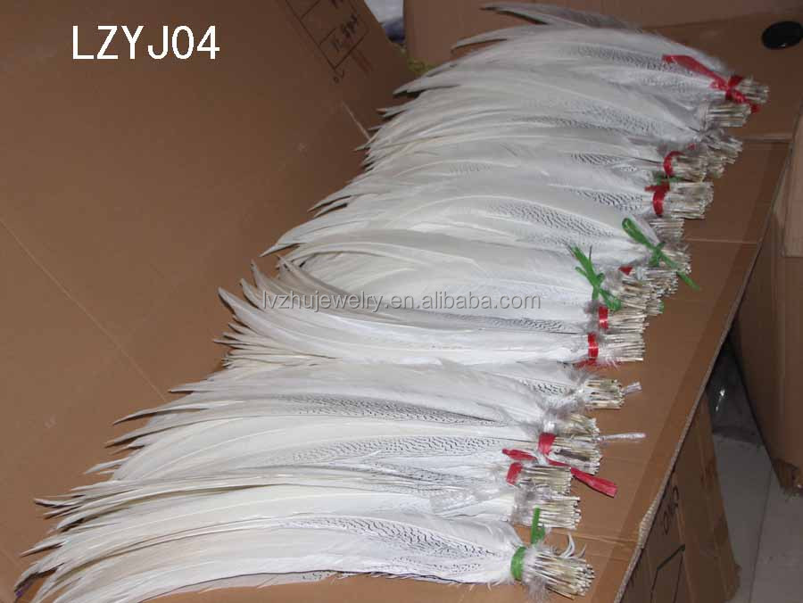 漂白、 染色のlzl777銀キジの尾羽問屋・仕入れ・卸・卸売り