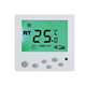 LCD touch screen digital room temperature thermostat for cooling and underfloor heating