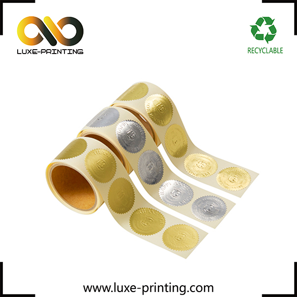 Foil embossed sticker rolls gold stamping paper label silver foil sticker buy silver foil sticker product on alibaba com