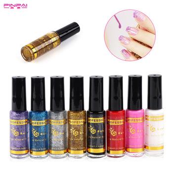 Pinpai Brand Professional 8 Colors Nail Art Pen Brush Applicator