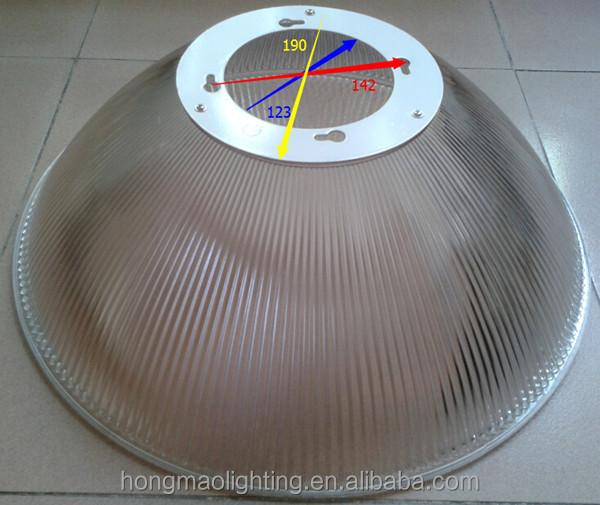 Led High Bay Prismatic Reflector: 12'' Led High Bay Light Pc Reflector / Diffuser