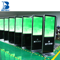 OEM TFT 40-65 inch Floor-stand advertising digital signage