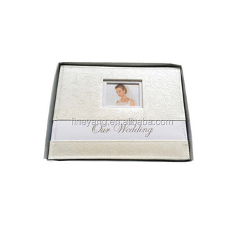 Wedding memory keeper guest book silver staming sheets A4 size with box