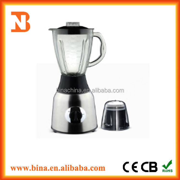 Hot sale electric electric home appliances glass jar Blender