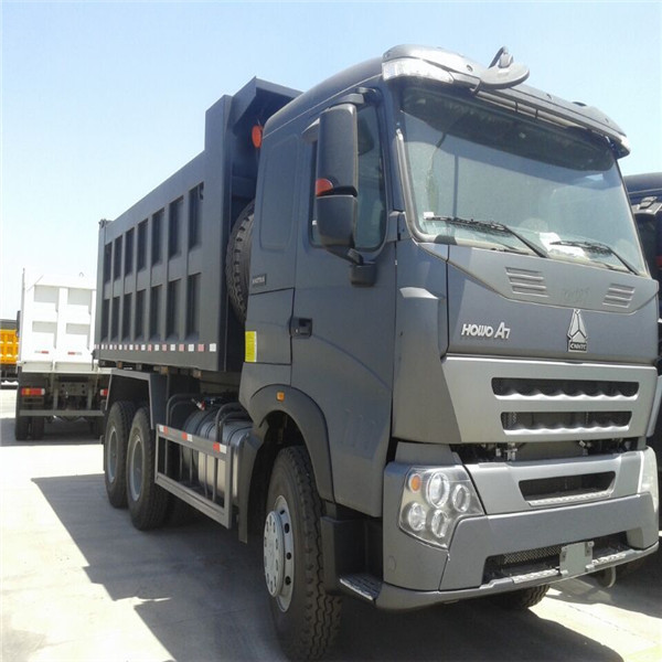 Low Price HOWO A7 25CBM Ghana Tipper Truck Prices