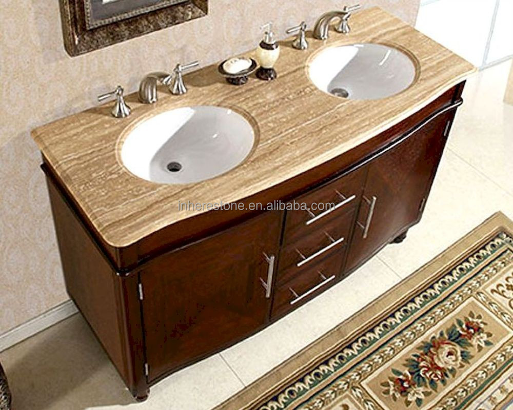 Travertine Bathroom Vanity Tops Supplieranufacturers At Alibaba