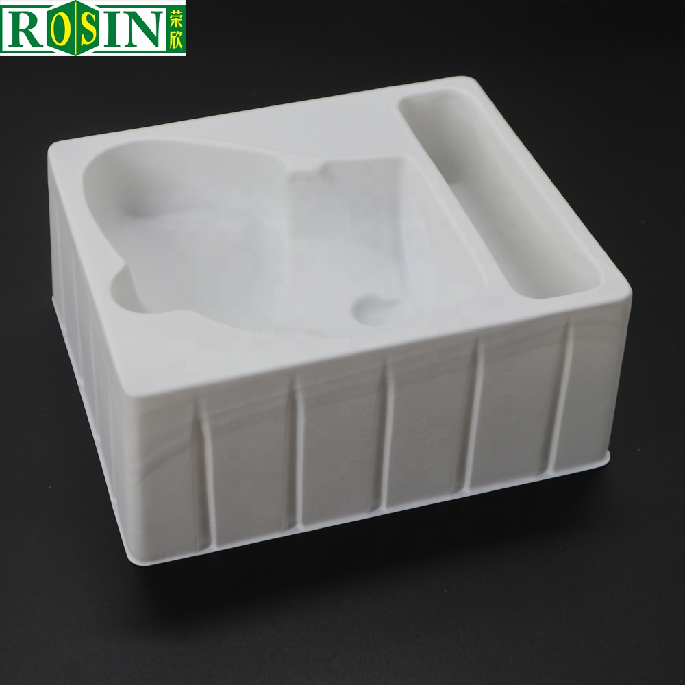 China PVC flocking blister tray for cosmetic product packaging