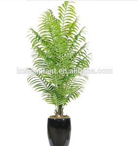 Greenery plant artificial pot tree,decorative artificial wooden tree