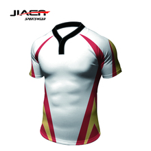 100% polyester Ademend blank authentieke <span class=keywords><strong>rugby</strong></span> jerseys wear team set <span class=keywords><strong>rugby</strong></span> jersey