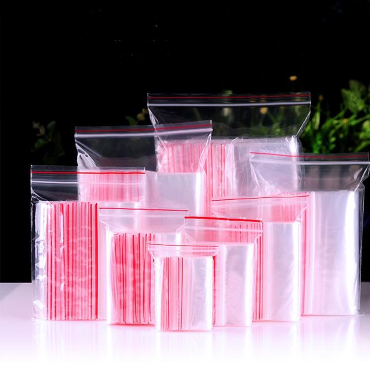 82cc85ac1 Precio directo de fábrica al por mayor de almacenamiento reutilizables de  plástico transparente con cremallera bolsas