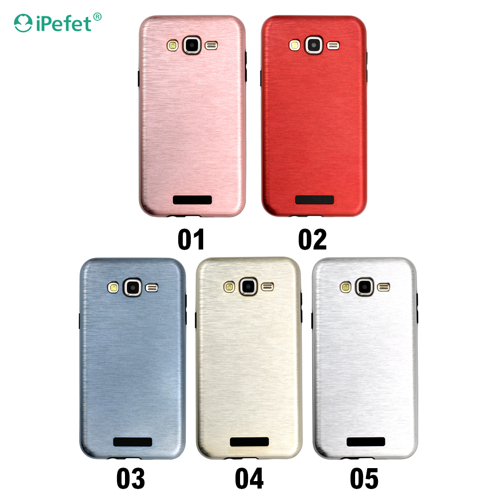 Funky Chrome Mobile Phone Back Cover For Samsung Galaxy J7, 2016 J710 Cover Case