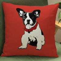 Lovely Dog Pillow Case Fashion Home Sofa Cushion Cover Seat Covers Decorations