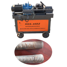 Construction Machinery Steel Bar Screw Making Machine Rebar Thread Rolling Machine